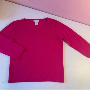 Worthington 100% cashmere sweater